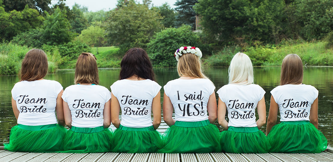 Hen do printed t-shirts