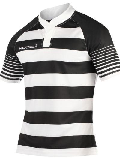 Junior touchline hooped match shirt