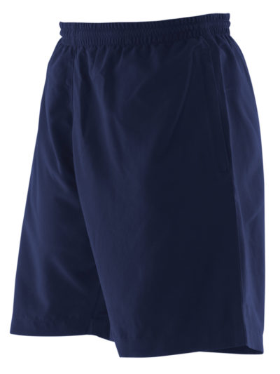Kids plain microfibre short