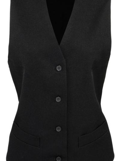 Women's lined polyester waistcoat
