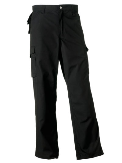 Russell Heavy Duty Trousers (Tall) Black
