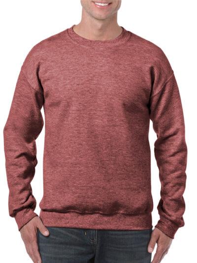 Gildan Heavy Blend™ Adult Crewneck Sweatshirt Heather Sport Dark Maroon