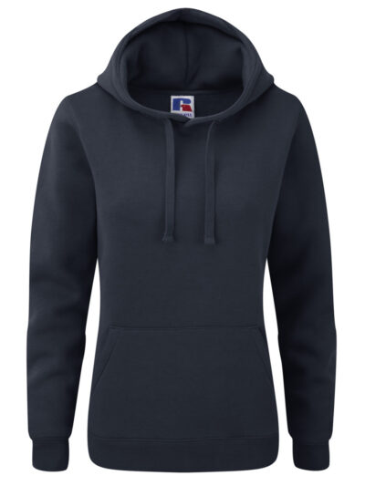 Russell Ladies' Authentic Hooded Sweat French Navy