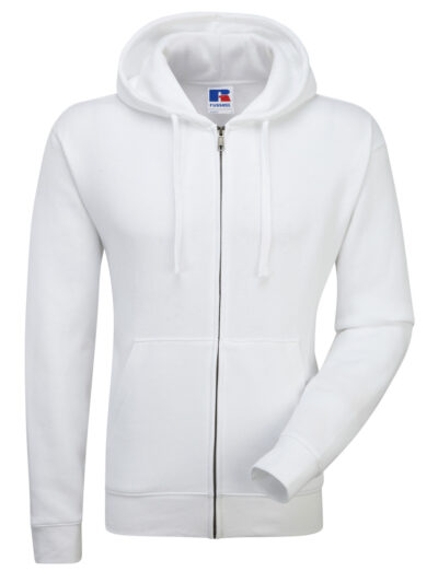 Russell Men's Authentic Zipped Hood White