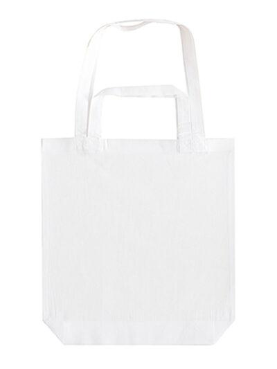 Bags By Jassz Double Handle Gusset Bag White