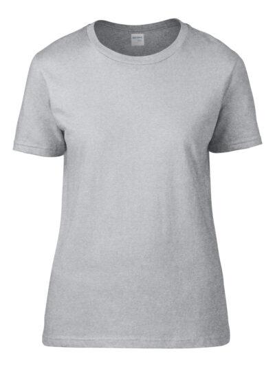 Gildan Premium Cotton® Ladies' T-Shirt Sport Grey (RS)