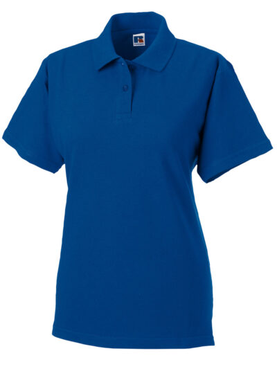 Russell Ladies' Classic Cotton Polo Bright Royal