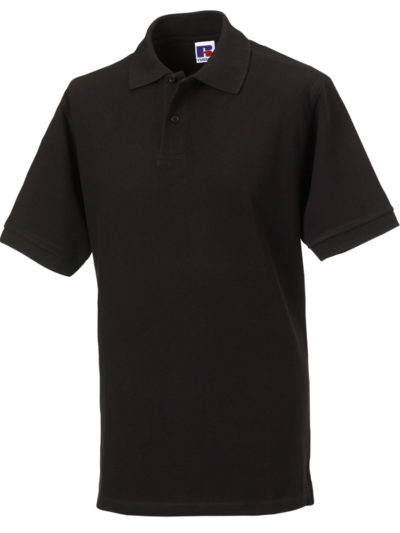 Russell Men's Classic Cotton Polo Black