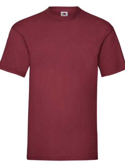 Fruit Of The Loom Men's Valueweight T-Shirt Brick Red