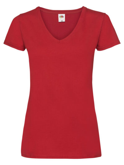 Fruit Of The Loom Ladies' Valueweight V-Neck T-Shirt (61398)