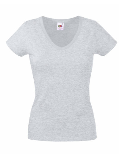 Lady-Fit Valueweight V-Neck T-Shirt
