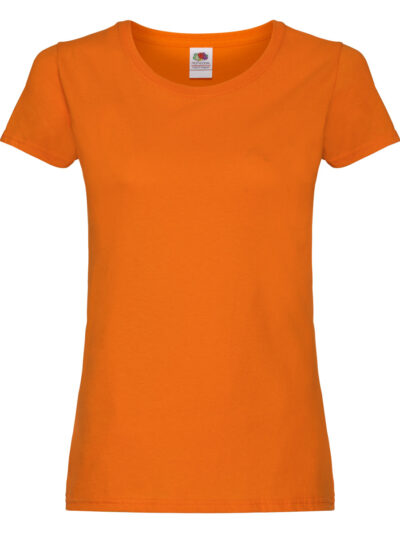 Fruit Of The Loom Ladies' Original T Orange