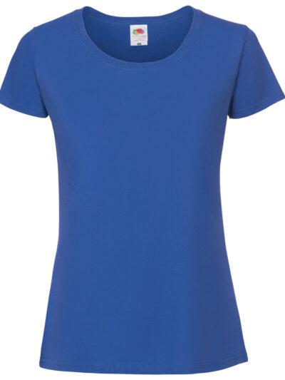 Fruit Of The Loom Ladies' Ring Spun Premium T-Shirt Royal