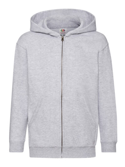 Fruit Of The Loom Kid's Classic Hooded Sweat Jacket (62045)