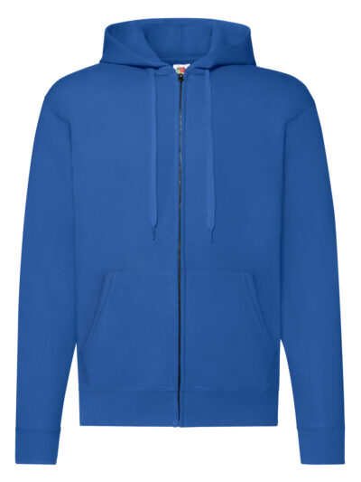 Fruit Of The Loom Men's Classic Hooded Sweat Jacket Royal
