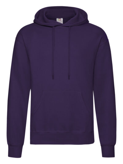 Fruit Of The Loom Men's Classic Hooded Sweat (62208)