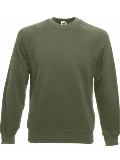 Fruit Of The Loom Raglan Sleeve Sweat