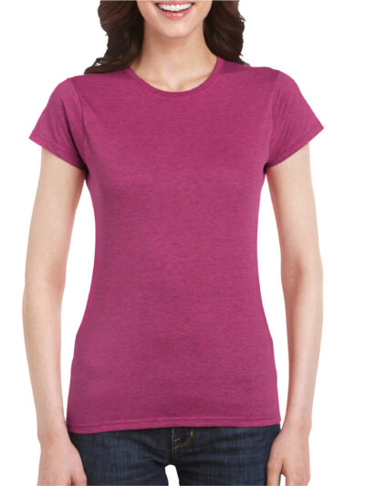 Gildan Softstyle® Ladies' T-Shirt Antique Heliconia