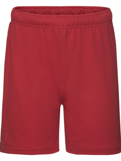 Fruit Of The Loom Kid's Performance Shorts Red