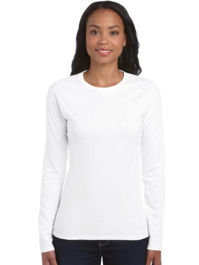 Ladies' Soft Style Long Sleeve T-Shirt