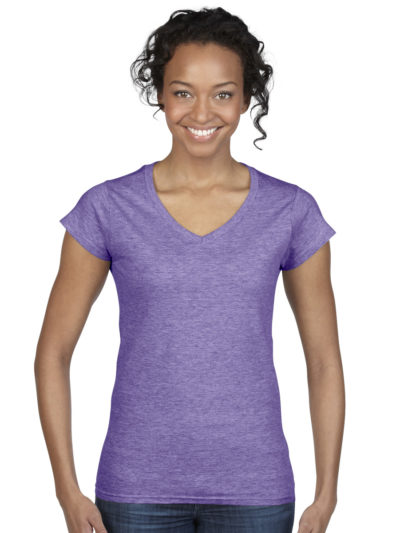 Gildan Ladies Soft Style V-Neck T-Shirt