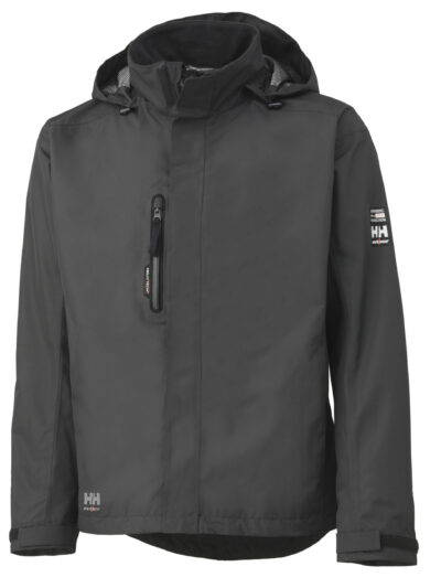 Helly Hansen Manchester Shell Jacket Dark Grey