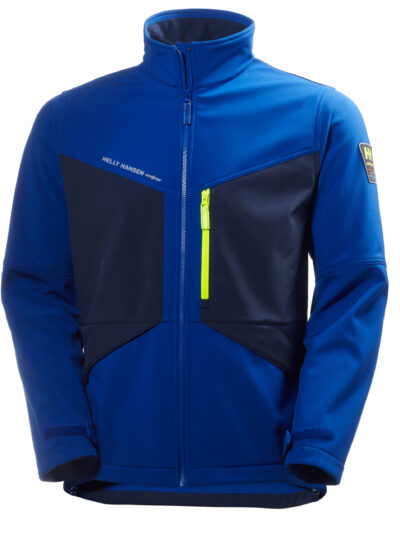 Helly Hansen Aker Softshell Cobalt Blue and Evening Blue
