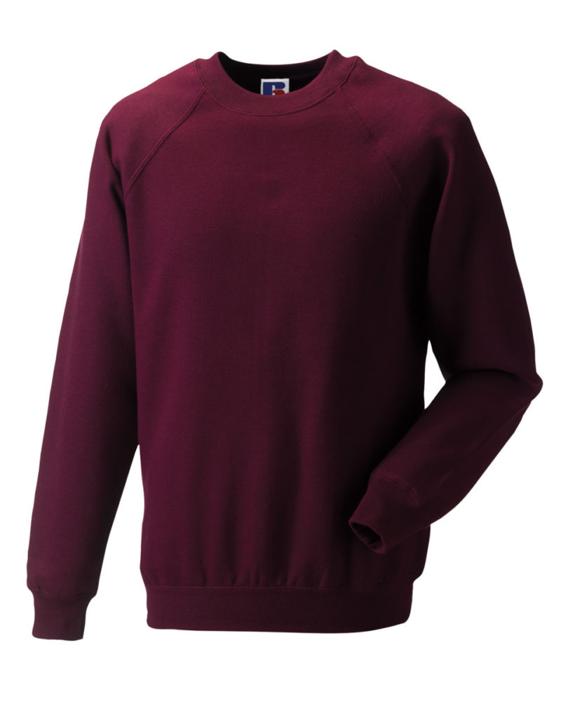 Russell Adult Classic Sweatshirt Burgundy