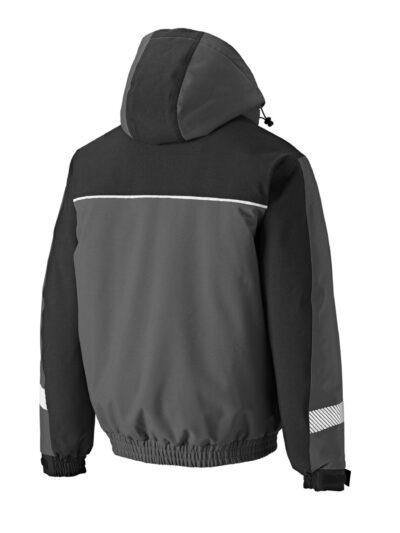 Dickies Winter Jacket Grey and Black
