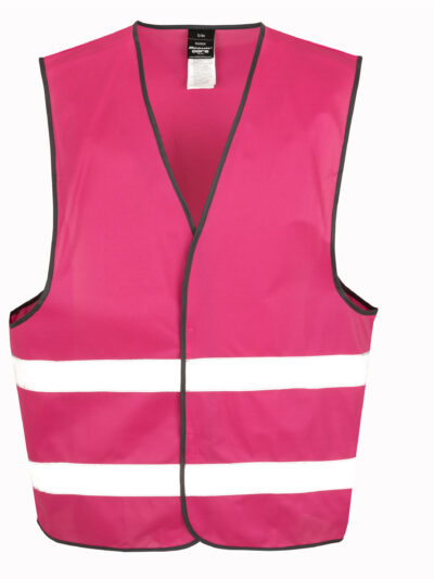 Result Safeguard Enhance Visibility Vest Raspberry