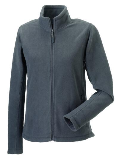 Russell Ladies' Full Zip Outdoor Fleece Convoy Grey