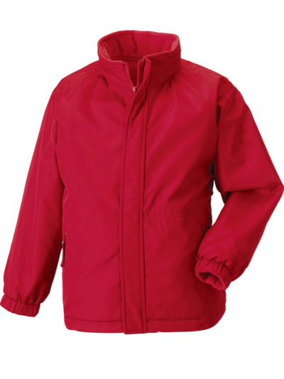 Jerzees Schoolgear Children's Reversible Jacket Classic Red