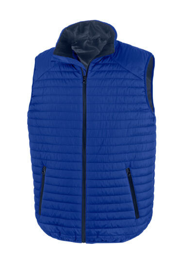 Result Thermoquilt Gilet Royal and Navy