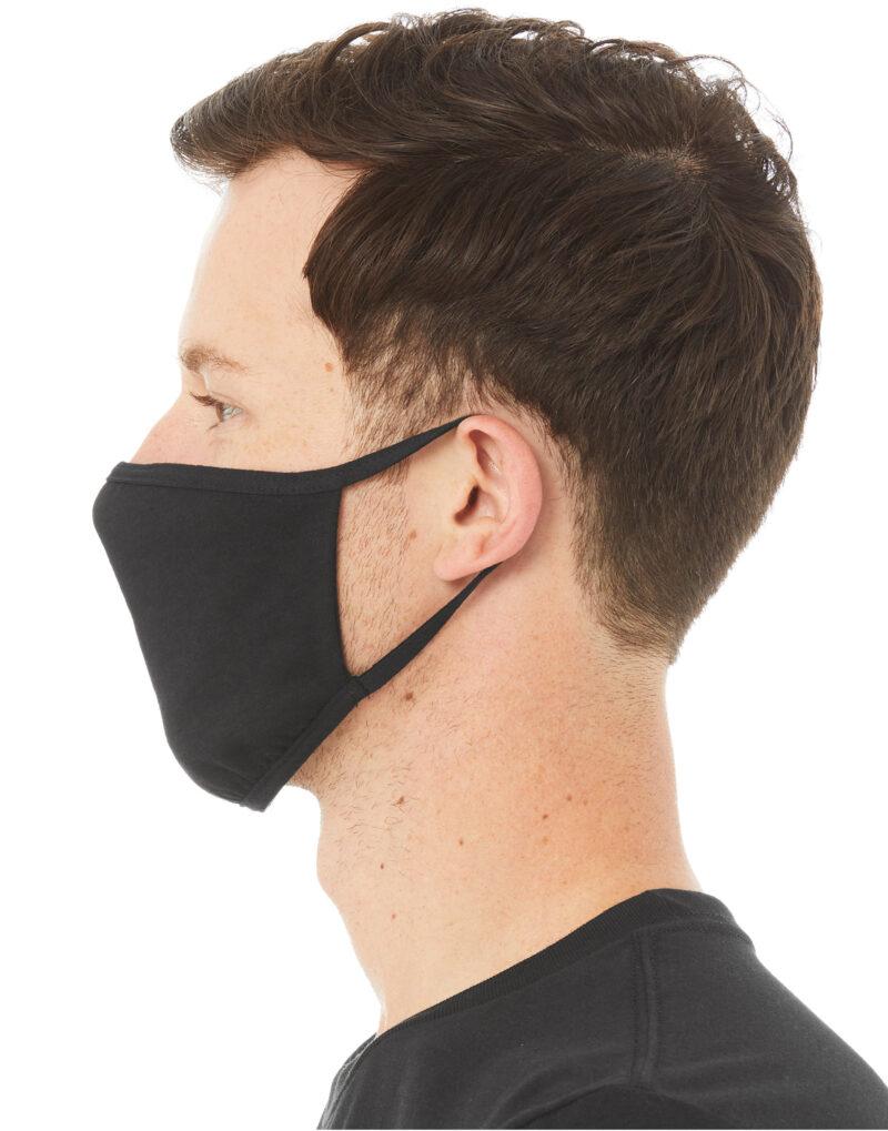 BELLA 2-Ply Face Mask (Pack of 72) Black