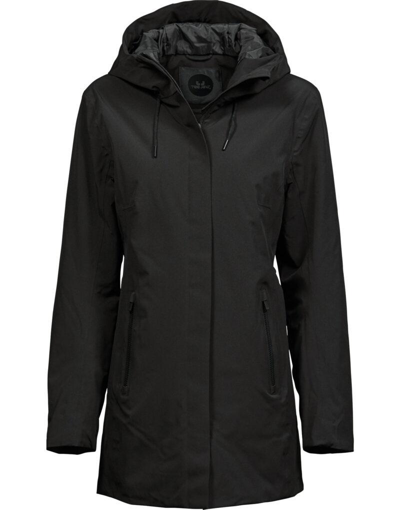 Tee Jays Ladies' All Weather Parka Black