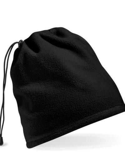 Beechfield Suprafleece® Snood/Hat Combo Black