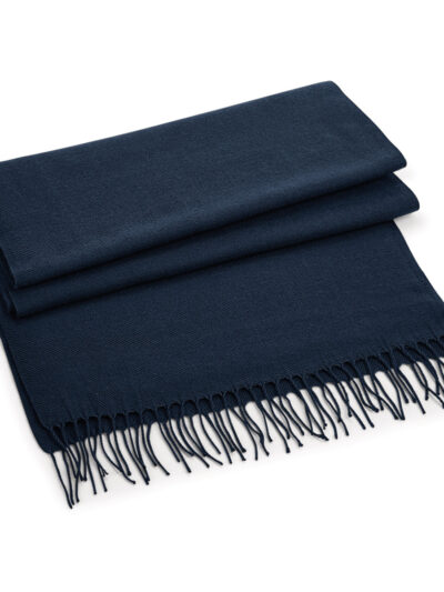 Beechfield Classic Woven Scarf French Navy