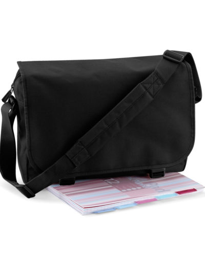 Bagbase Messenger Bag Black