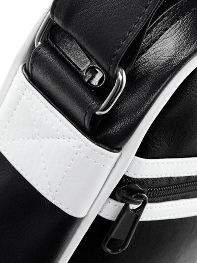 Bagbase Original Retro Across Body Bag Black and White