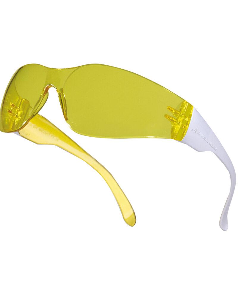 Delta Plus Brava 2 Safety Glasses Yellow