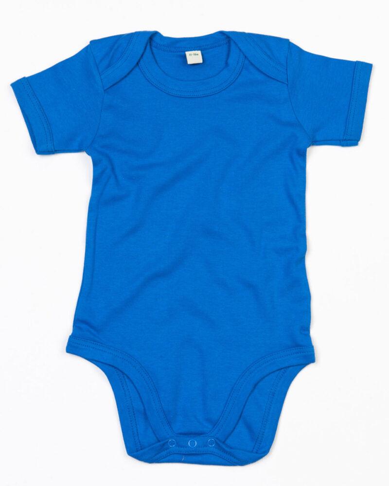Babybugz Baby Bodysuit Organic Cobalt Blue