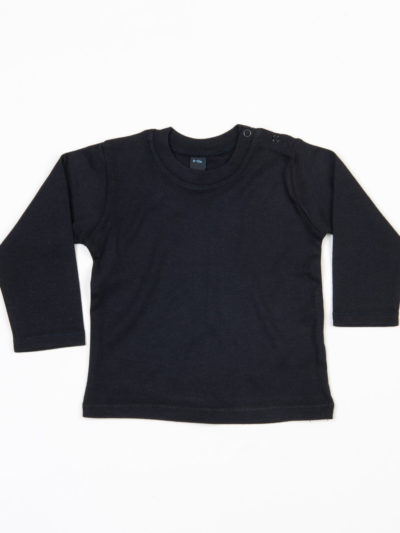 Babybugz Baby Long Sleeve T-Shirt Black