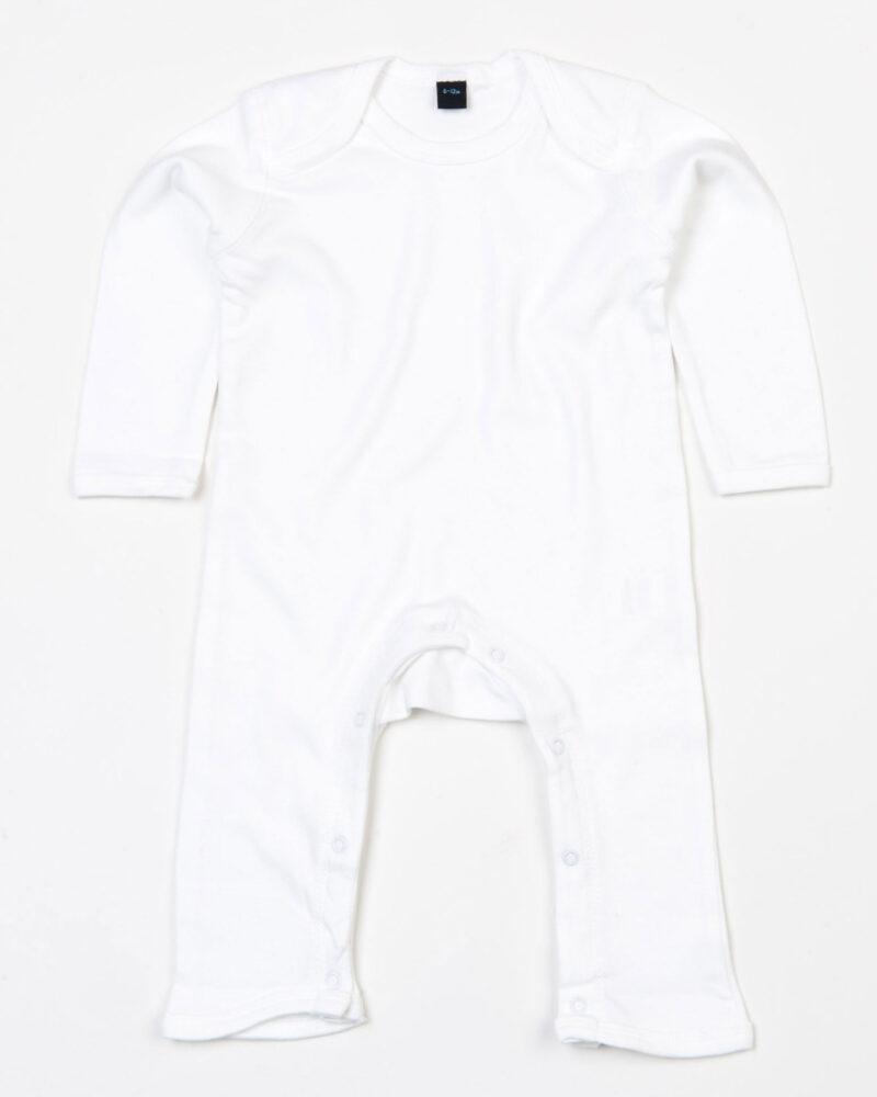 Babybugz Baby Rompasuit White