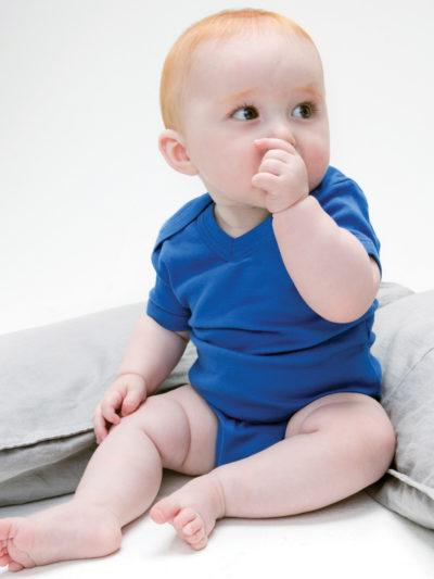 Babybugz Organic V Neck Bodysuit