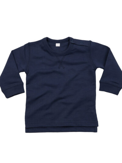 Babybugz Baby Sweatshirt Nautical Navy