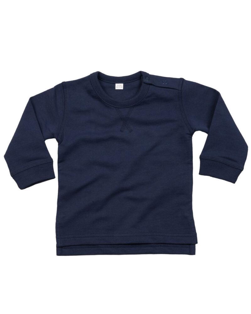 Babybugz Baby Sweatshirt Nautical Navy