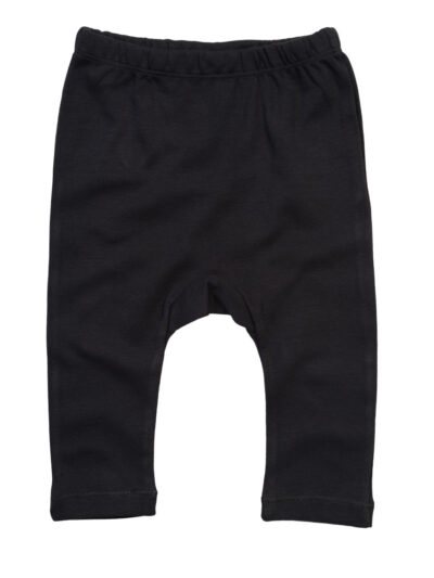 Babybugz Baby Plain Leggings Black