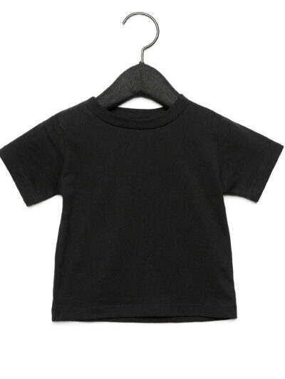 Bella Baby Jersey Short Sleeve Tee Black