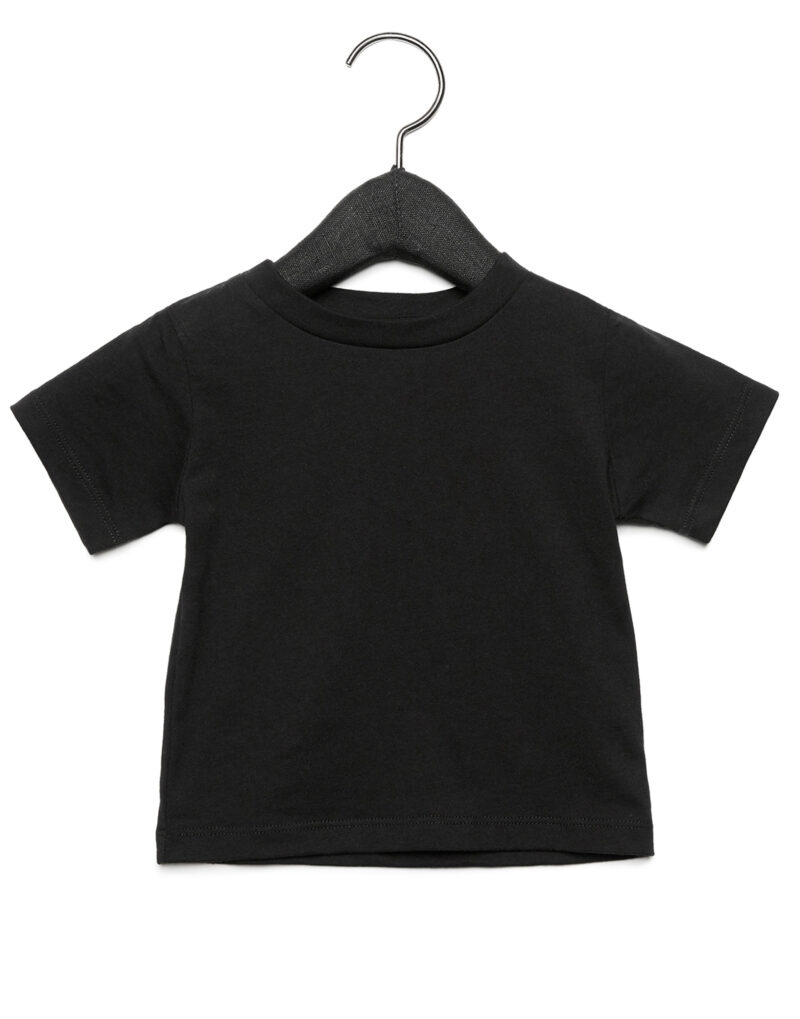Bella Baby Jersey Short Sleeve Tee Black