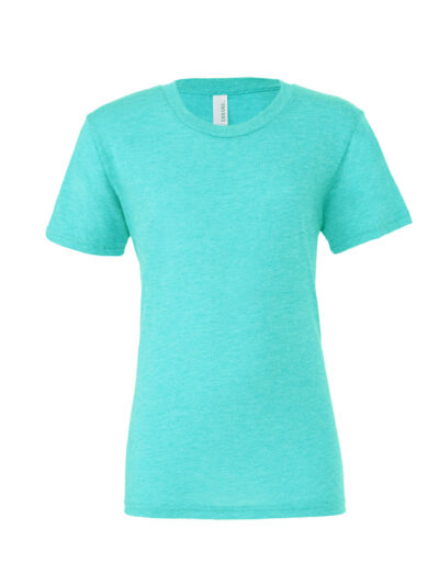Bella Canvas Unisex Triblend Short Sleeve Tee Sea Green Triblend